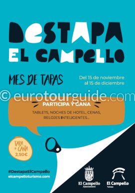 El Campello Tapas Route 15th November - 15th December 2019
