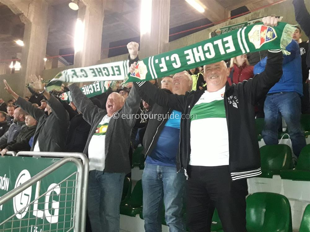 EuroTourGuide Elche CF Coach Tours Match Season Tickets 2020/21