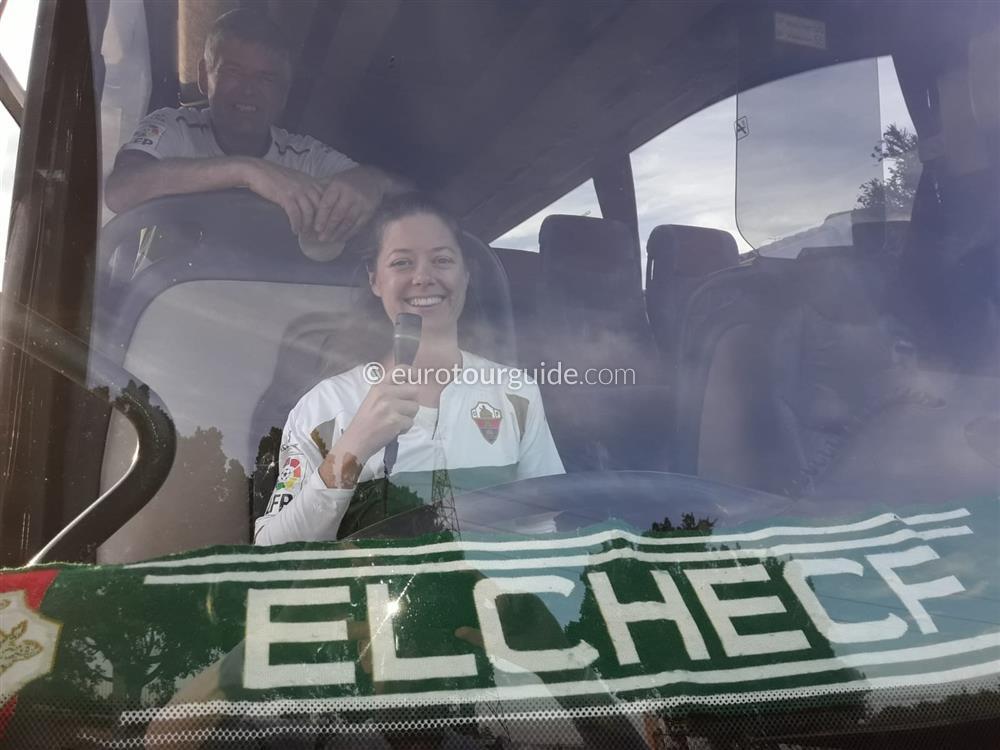 EuroTourGuide Coach Tour Elche CF v Almeria 16th November 2019