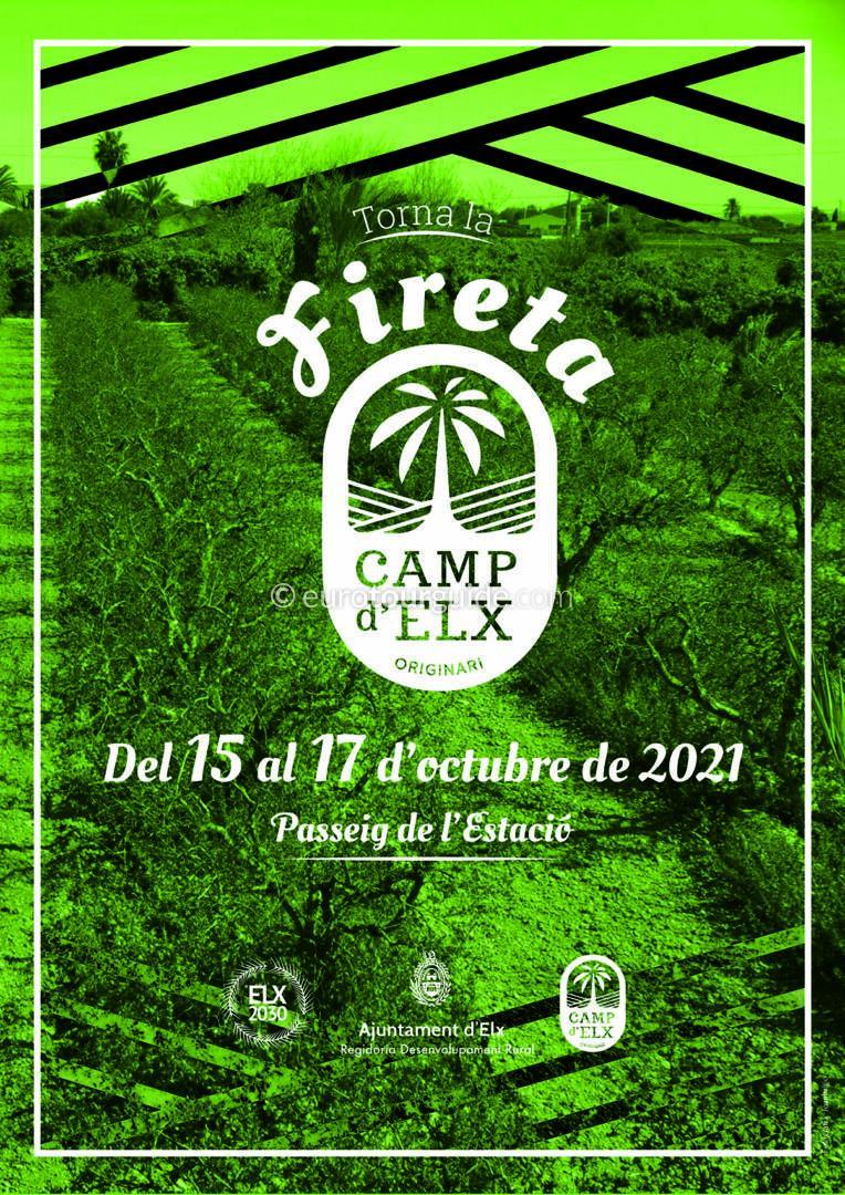 Elche Fireta del Camp D'Elx 15th-17th October 2021