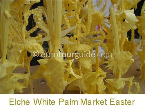 Elche White Palm Market 26th and 27th March 2021