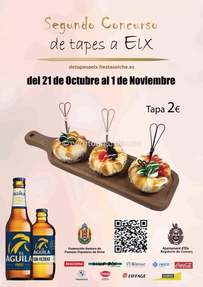 Elche 2nd Tapas Route 21st OCtober - 1st November 2021