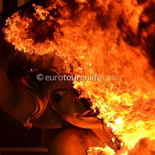 EuroTourGuide 3 Night Coach Tour Valencia Fallas 2021