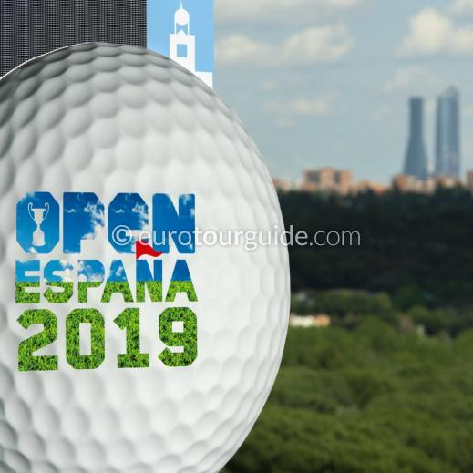EuroTourGuide Coach Tour Spanish Open Golf Madrid 2nd-4th October 2019