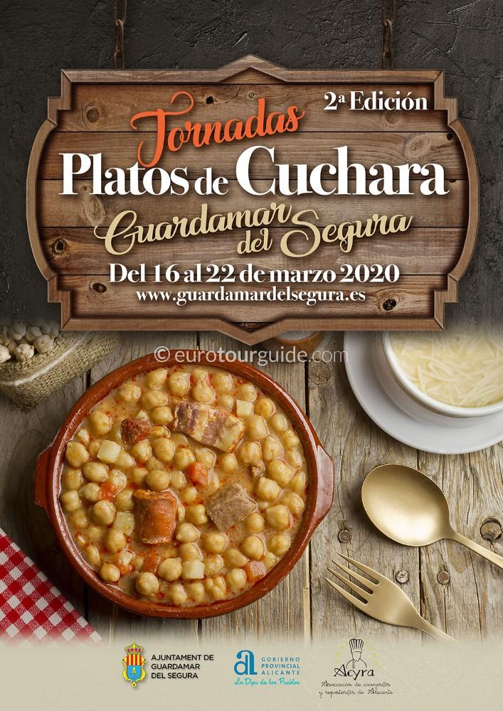 Guardamar del Segura Spoon Gastronomy Week 16th-22nd March 2020