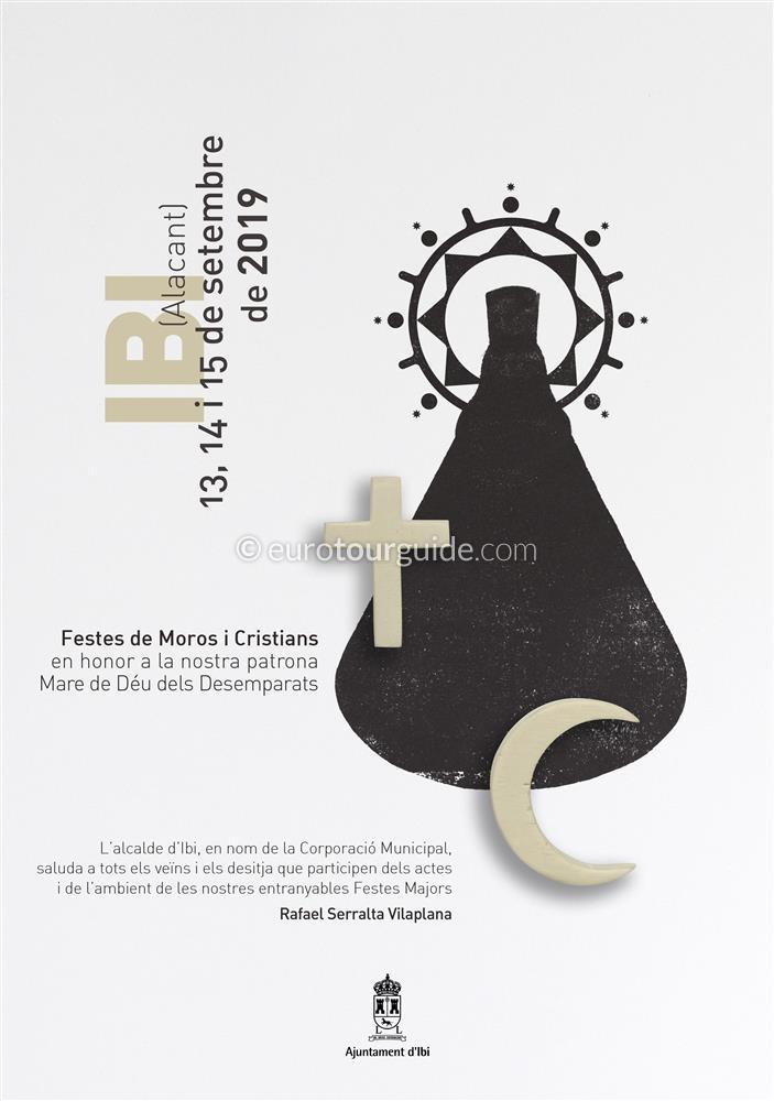 Ibi Fiesta Moors and Christians 12th-16th September 2019