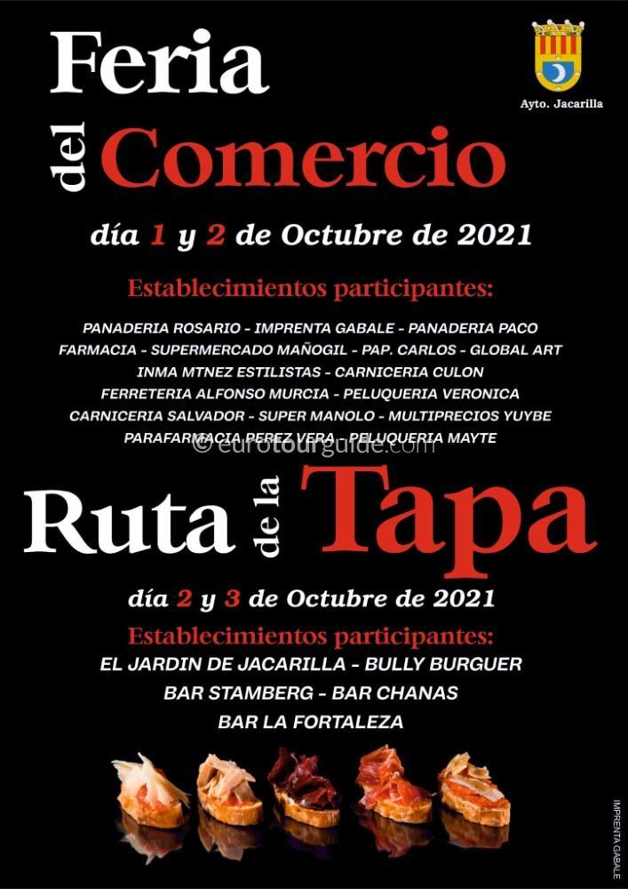 Jacarilla Feria del Comercio Discount Shopping Fair 1st & 2nd October 2021