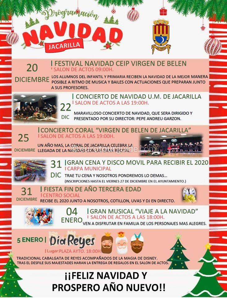 Jacarilla Christmas Activities 2019/20