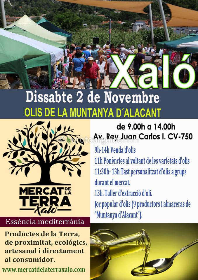 Jalon Ecological Market 1st Saturday of every Month during 2019