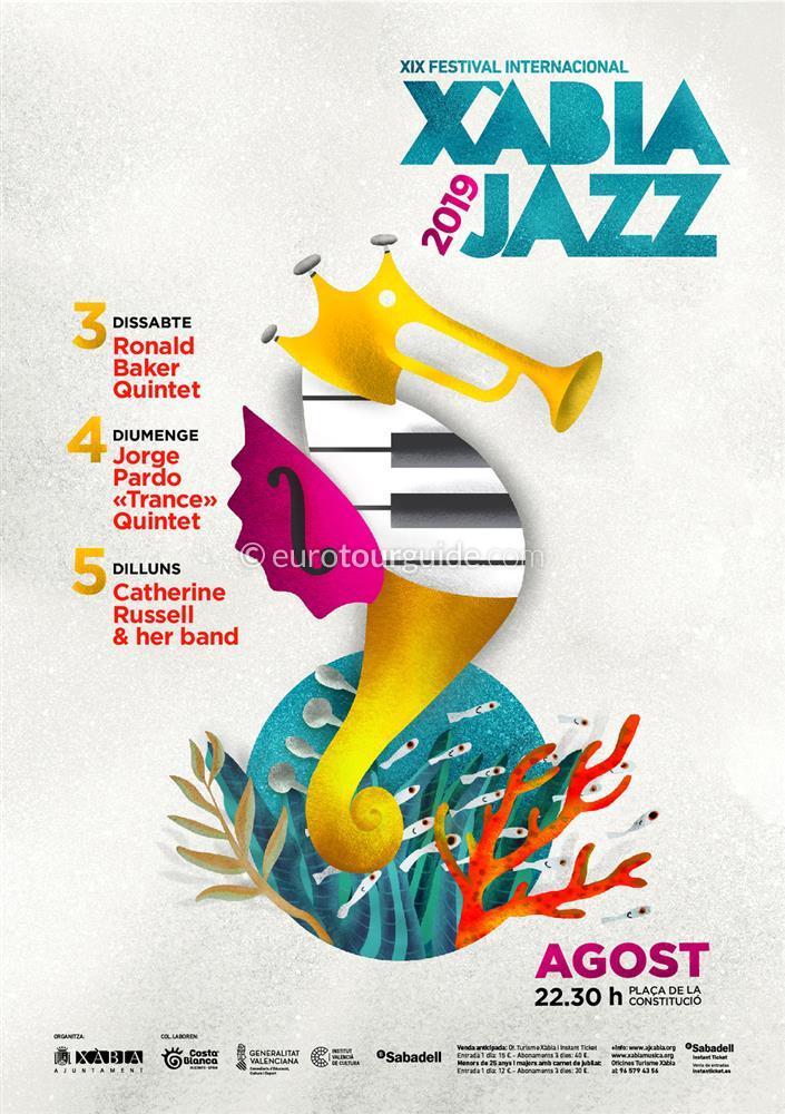Javea Xábia 19th Jazz Festival 3rd-5th August 2019