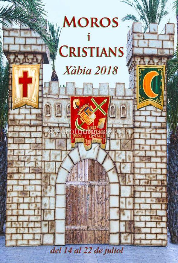 Javea Xabia Moors and Christians 14th - 22nd July 2018