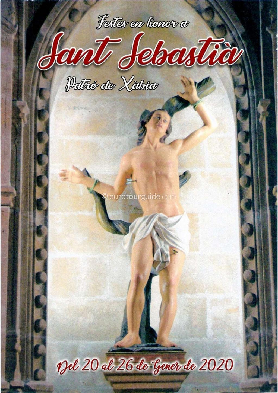Javea Xabia San Sebastian Fiesta 24th-26th January 2020