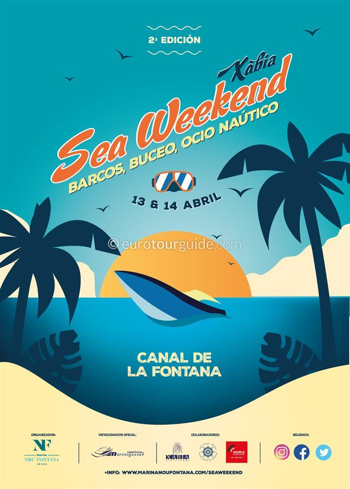 Javea Xabia Sea Weekend 13th & 14th April 2019