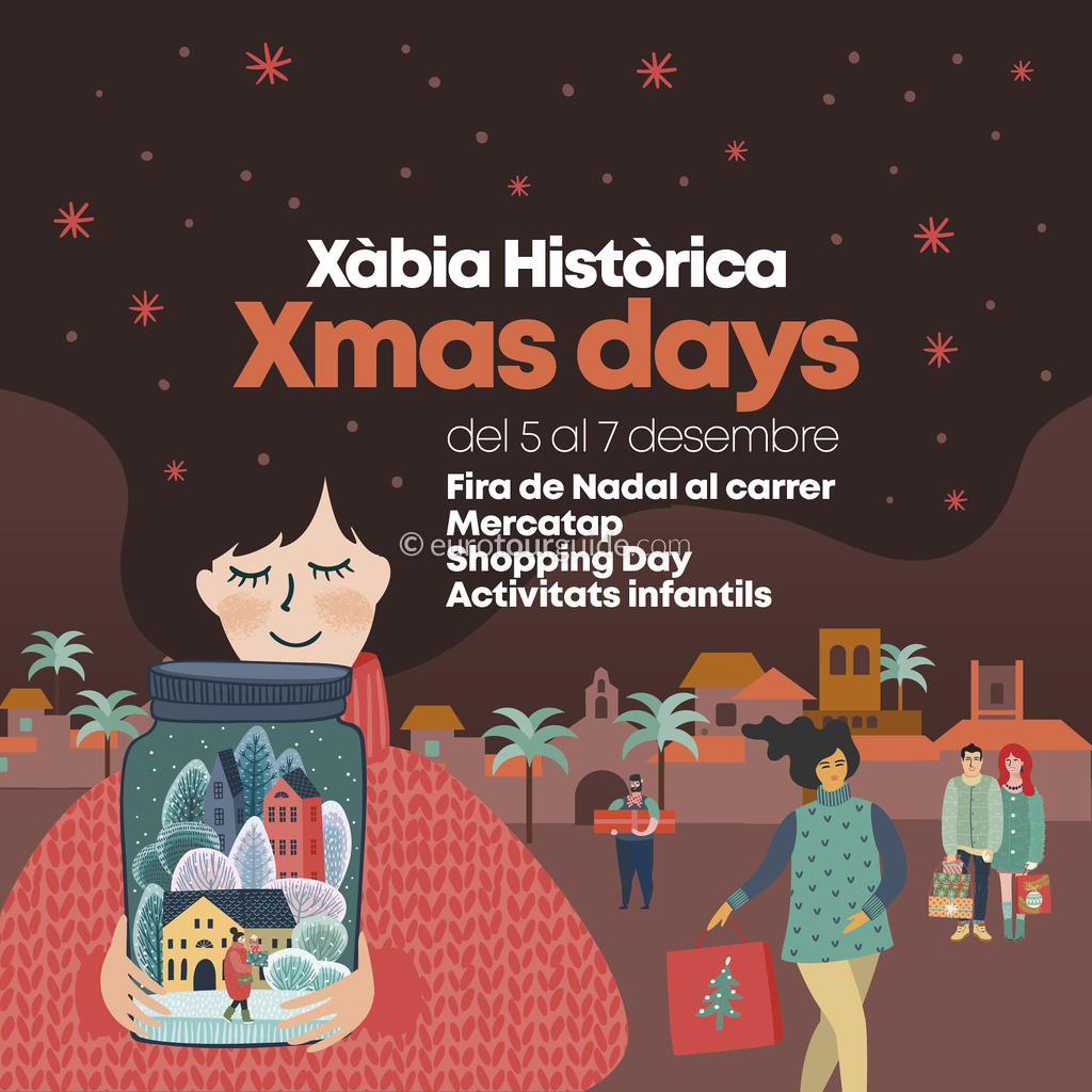 Javea Xmas Days 5th-7th December 2019