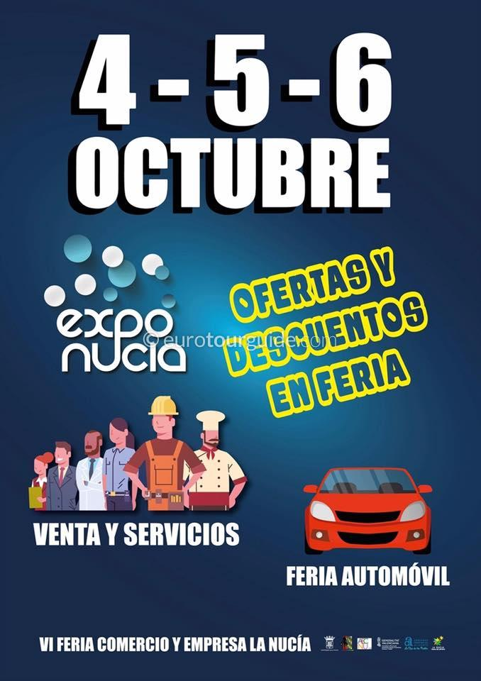 La Nucia Exponucia Fair 4th-6th October 2019