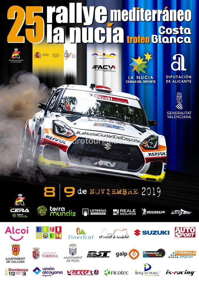 La Nucia 25th Mediterranean Rally 9th November 2019