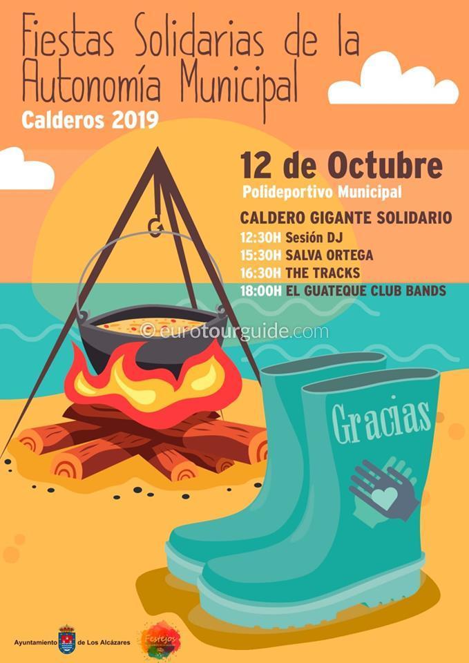 Los Alcazares Fiesta de Octubre 12th October 2019