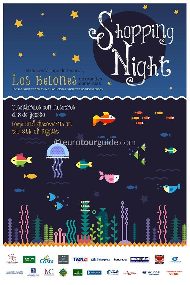 Los Belones Late Night Shopping 8th August 2019