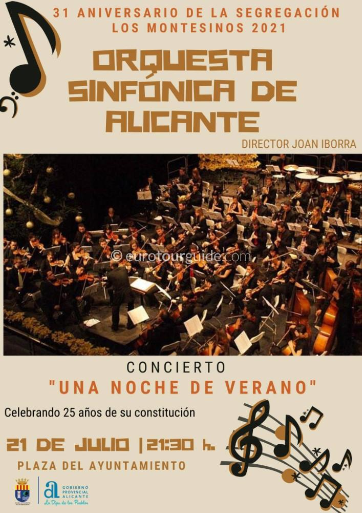 EuroTourGuide Los Montesinos Concert 21st July 2021