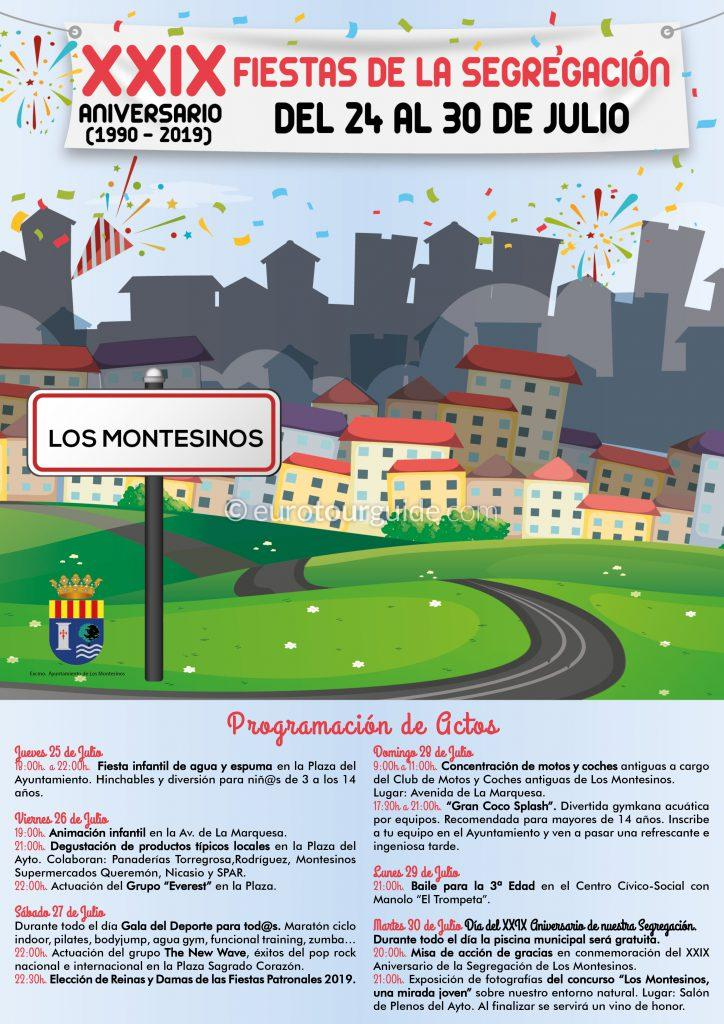 Los Montesinos Independence Fiesta 25th-30th July 2019