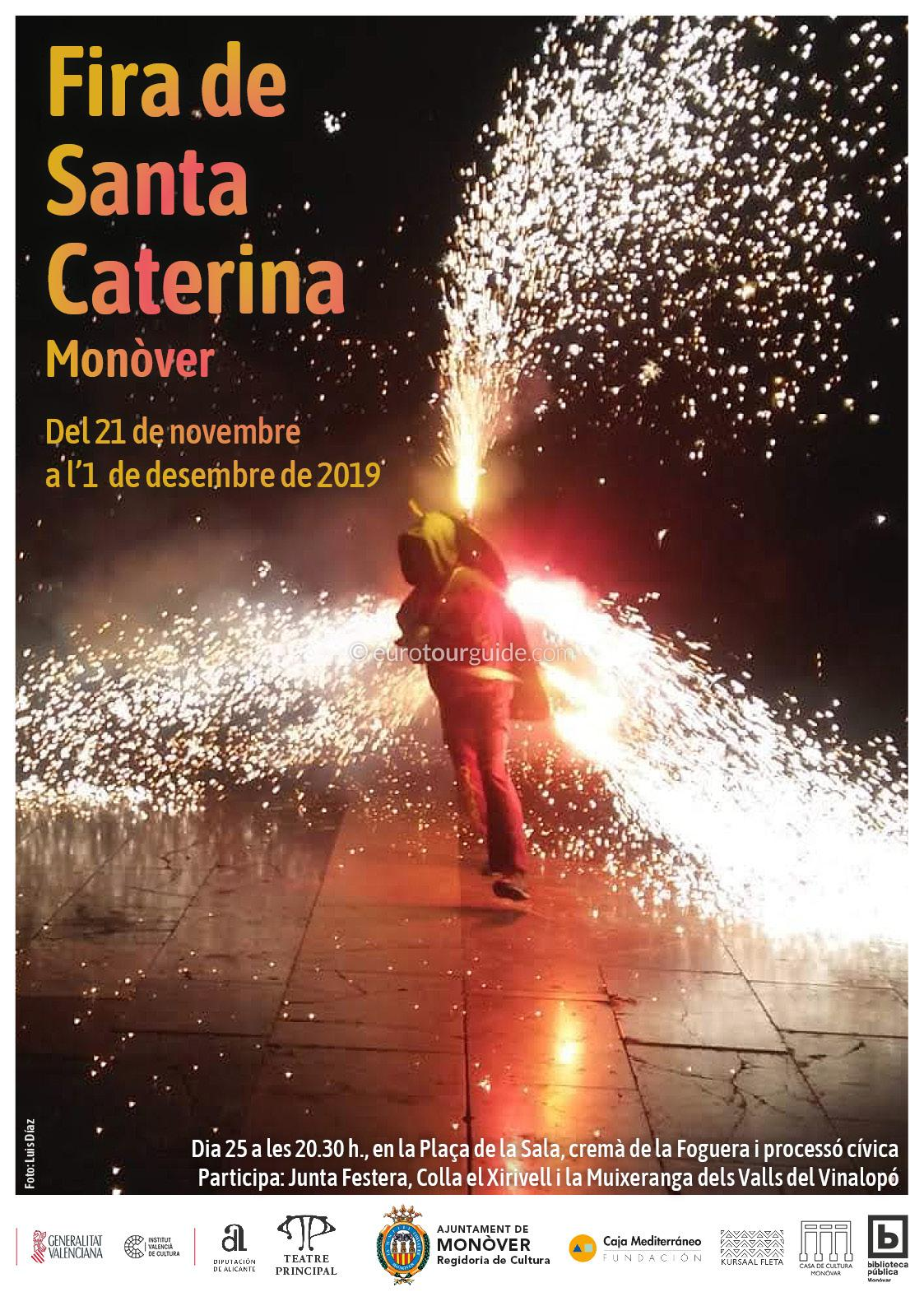 Monovar Fira de Santa Caterina 22nd November - 1st December 2019