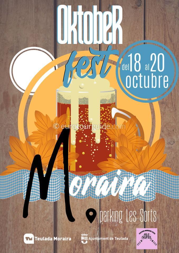 Moraira Oktoberfest German Beer Festival 18th-20th October 2019