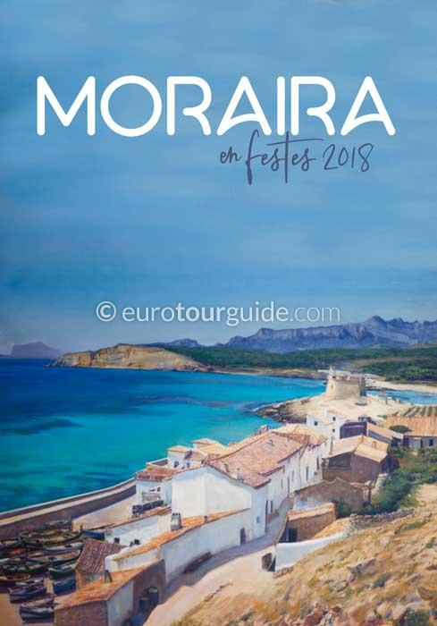 Moraira Fiesta of the Virgen de los Desamparados and Virgen del Carmen 6th-22nd July 2018