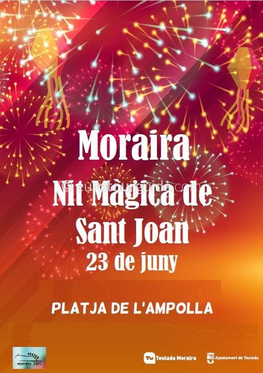 Moraira San Juan Sant Joan 23rd June 2018