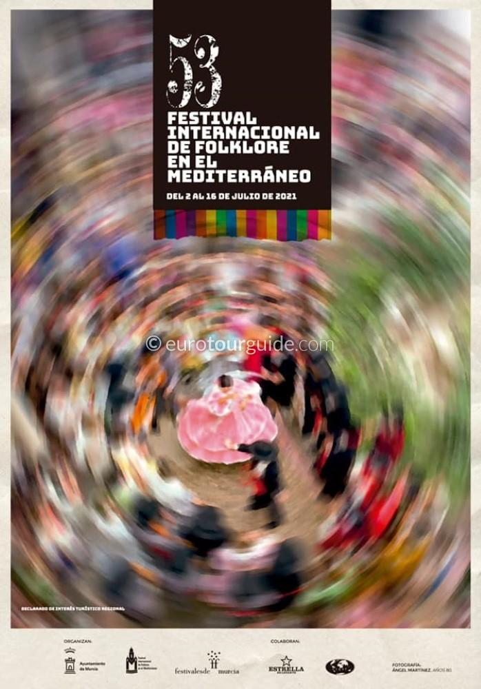 EuroTourGuide Murcia 53rd International Mediterranean Folk Festival 9th-10th July 2021