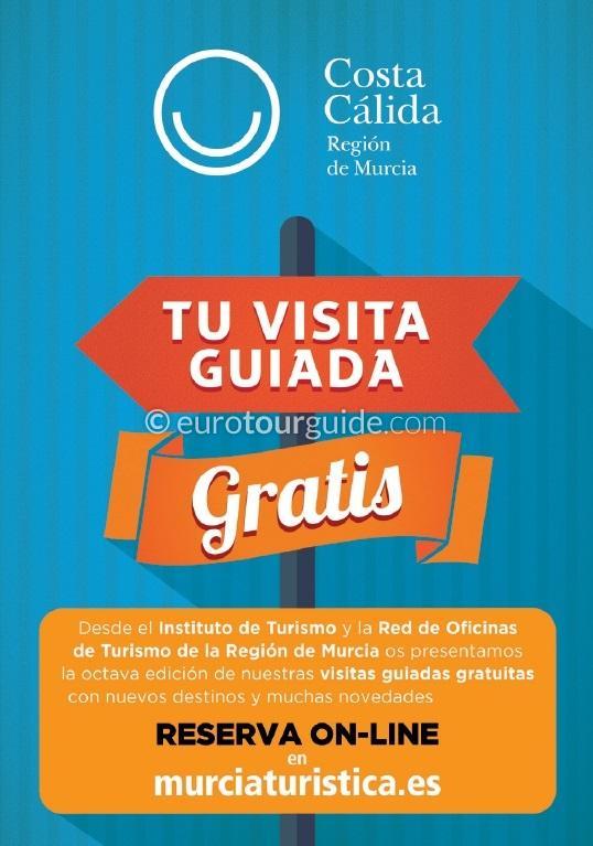 Murcia Region Free Guided  Visits 2020