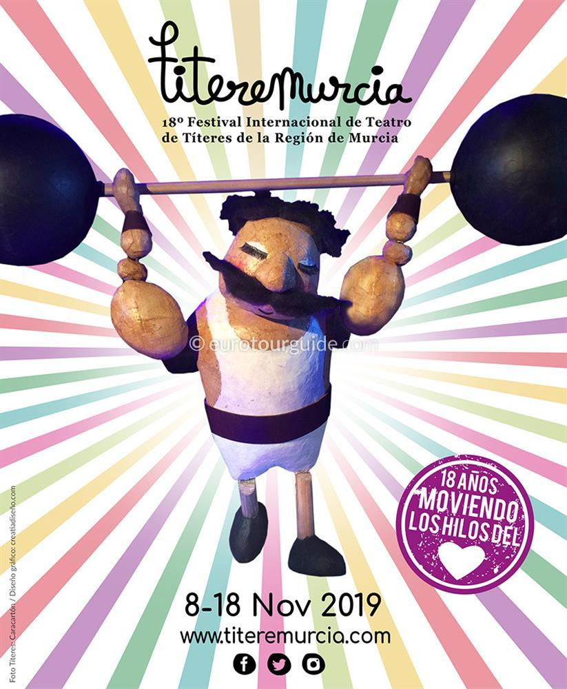 Murcia 18th International Puppet Festival 8th-18th November 2019