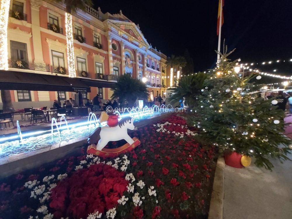 EuroTourGuide Coach Tour 15th December Murcia Christmas
