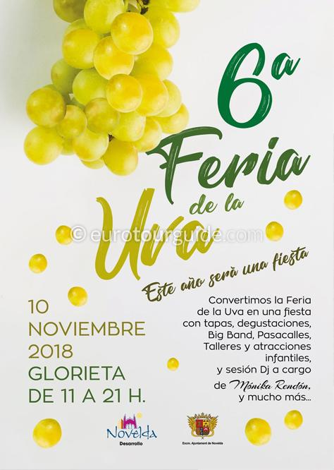 Novelda 6th Grape Fair 10th November 2018