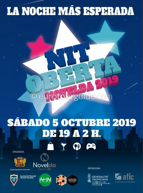 Novelda Late Night Shopping 5th October 2019