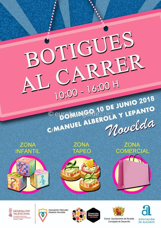 Novelda Street Fair Botigues al Carrer 10th June 2018