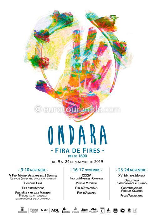 Ondara Winter Fair Fira de Fires November 2019