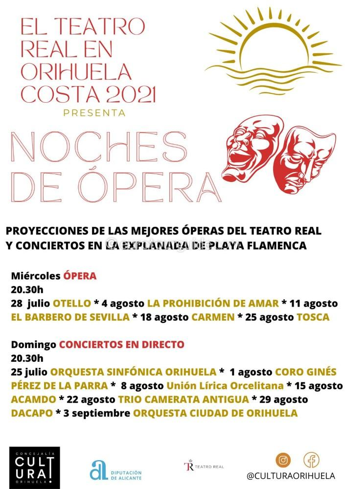 EuroTourGuide Playa Flamenca Orihuela Costa Summer Concerts 2021