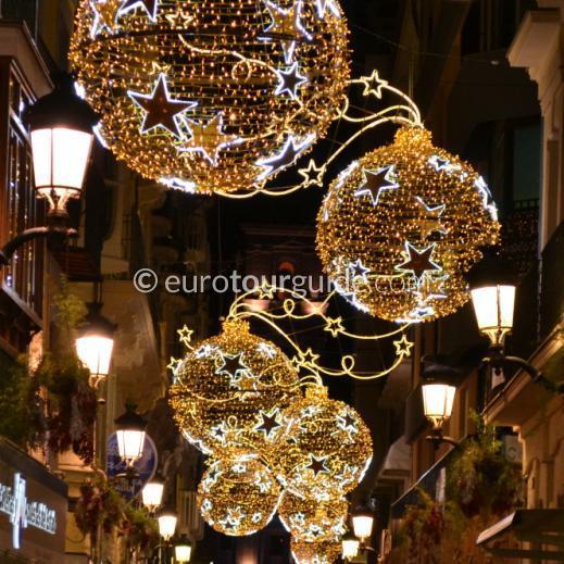 EuroTourGuide Coach Tour Murcia Christmas Lights 2019