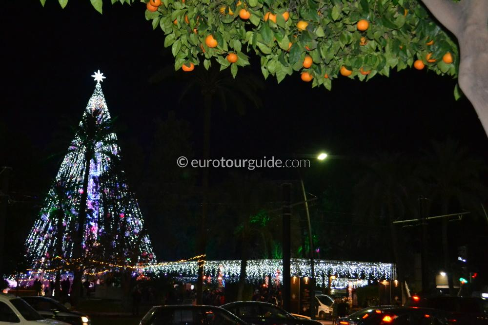 EuroTourGuide Coach Tour Murcia Christmas Lights