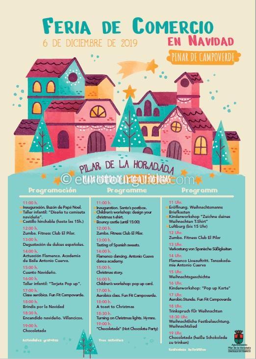 Pinar de Campoverde Christmas Fair 6th December 2019