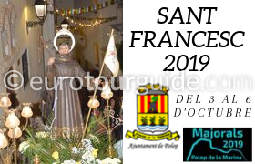 Polop Patron Saint Fiesta 3rd-6th October 2019