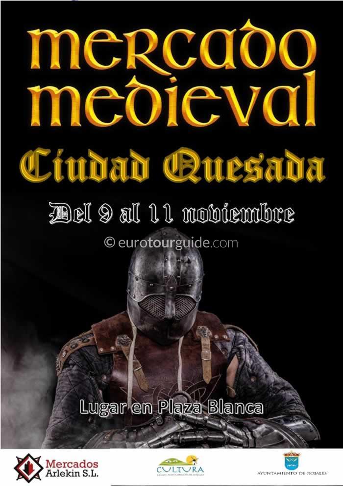 Quesada Medieval Market 9th-11th November 2018