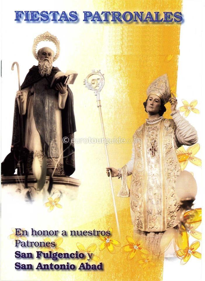 San Fulgencio Patron Saints Fiesta 16th & 17th January 2020