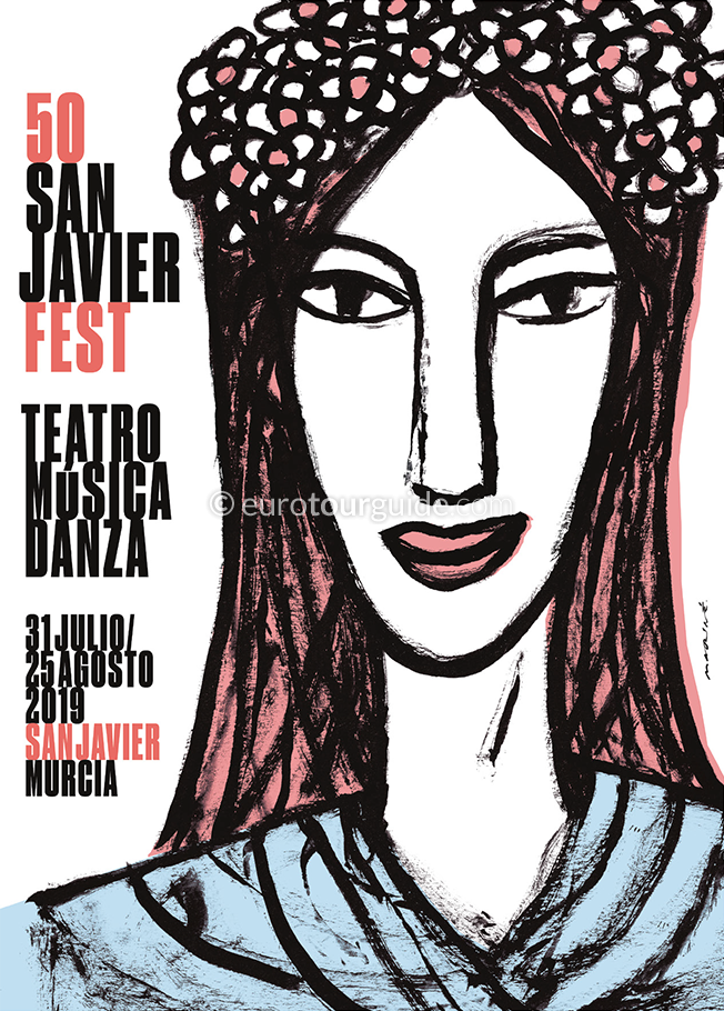 San Javier 50th International Festival of Theatre, Music and Dance August 2019