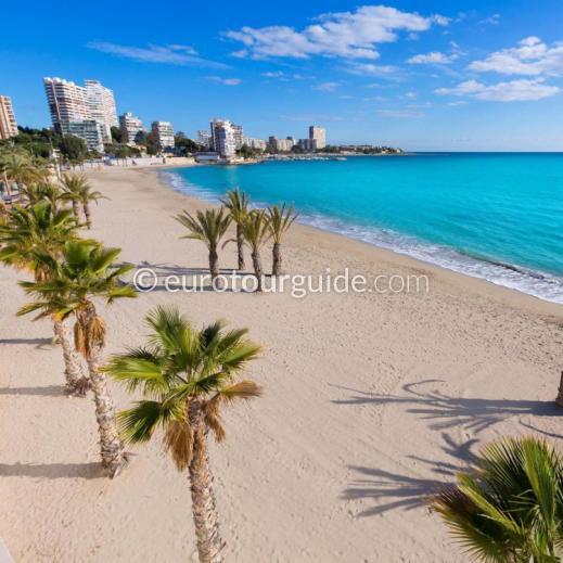 EuroTourGuide Coach Tour 14th July Summer Days Out San Juan Beach