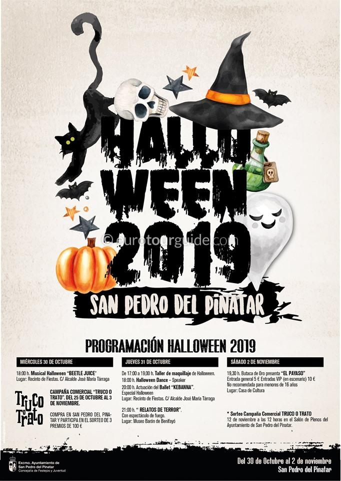 San Pedro del Pinatar Halloween 2019