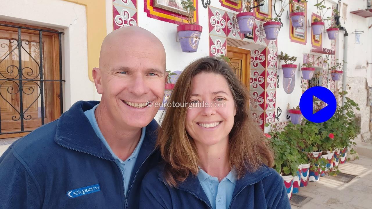 EuroTourGuide Coach Tours Positive Place Barrio Casco Antiguo La Santa Cruz Alicante