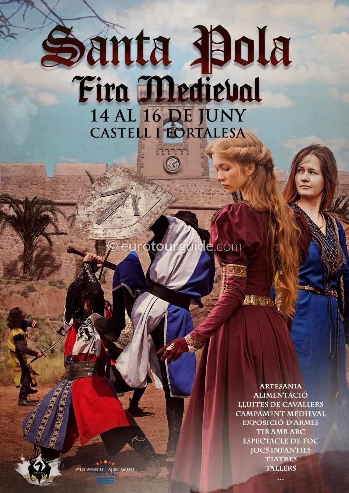 Santa Pola Medieval Fair 14th-16th June 2019