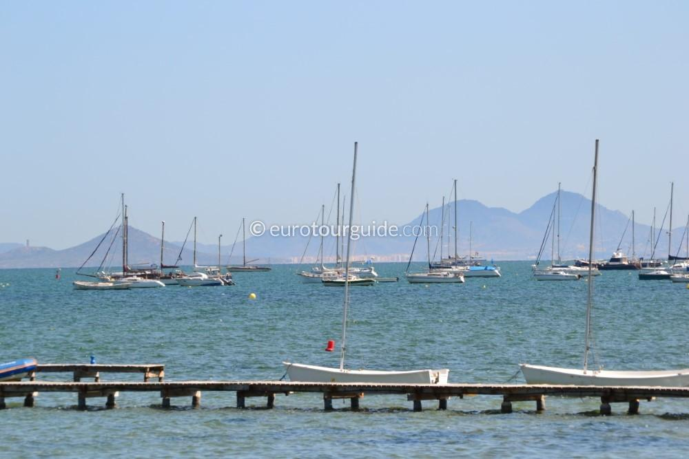 EuroTourGuide Coach Tour 07 Thursday 24th June Mar Menor and Boat Trip Santiago de la Ribera