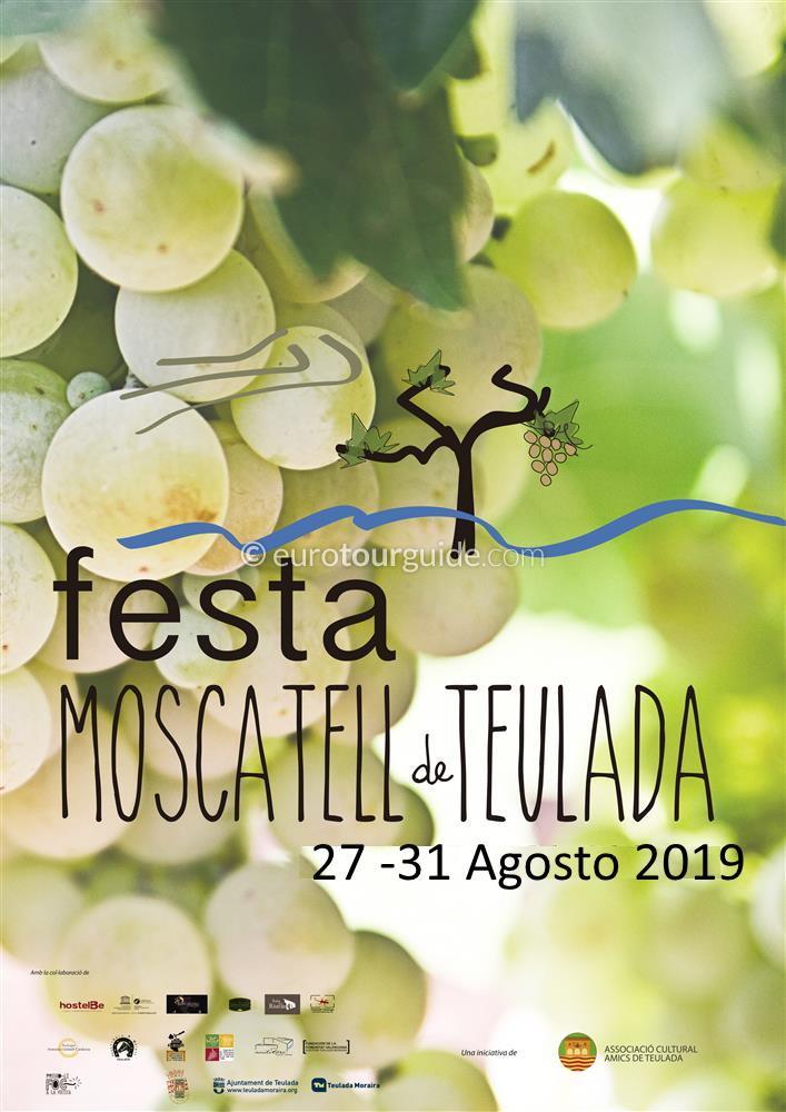 Teulada Moscatell Fiesta 31st August 2019